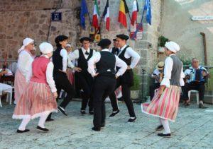 Troupe de danseurs folklorques Les cabris d'Albret Lot-et-Garonne