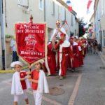 Défilé du sacre du Roi des Menteurs de Moncrabeau (Lot-et-Garonne)