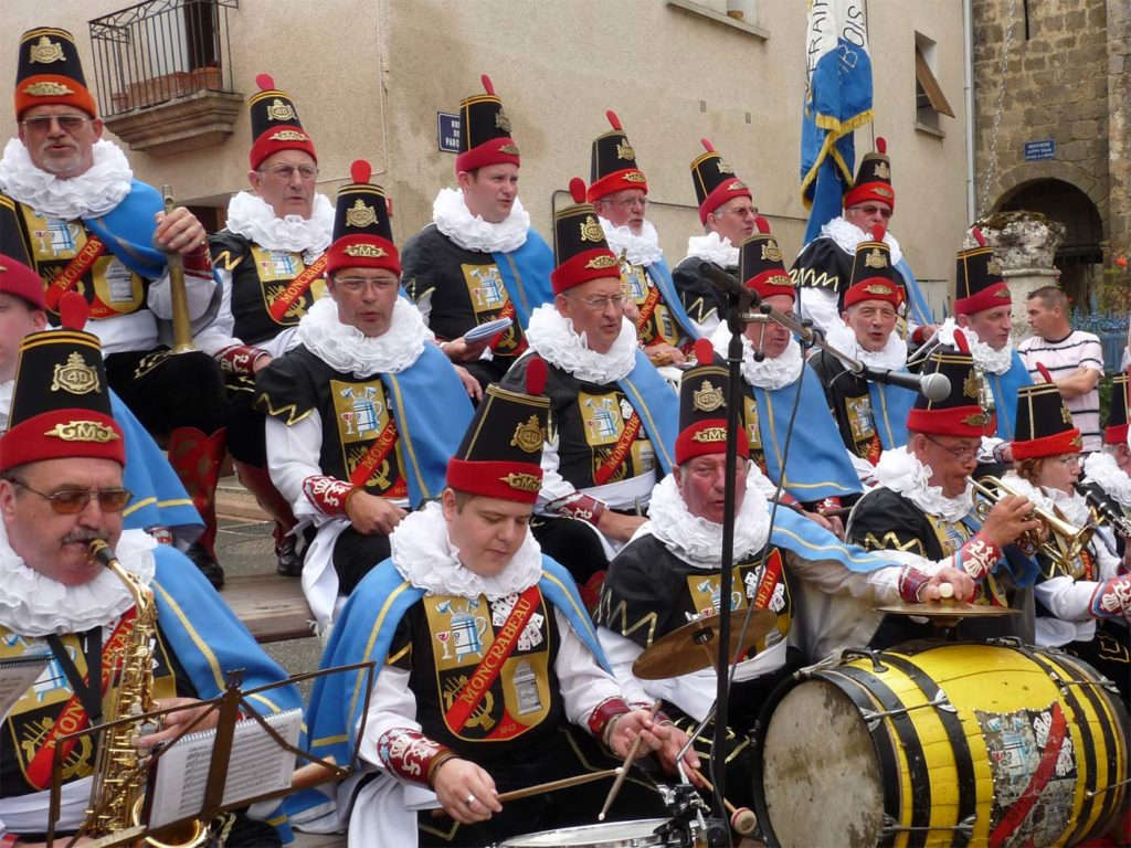 Musiciens de la Royale Moncrabeau de Namur, Belgique