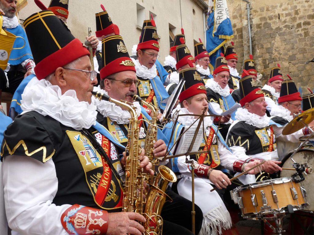 Musiciens de la Royale Moncrabeau de Namur